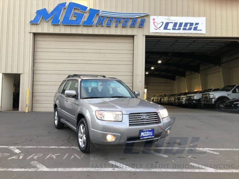 2008 Subaru Forester for sale at MGI Motors in Sacramento CA