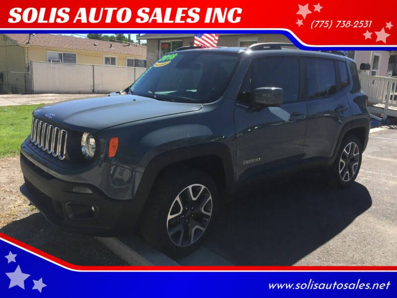 2018 Jeep Renegade for sale at SOLIS AUTO SALES INC in Elko NV