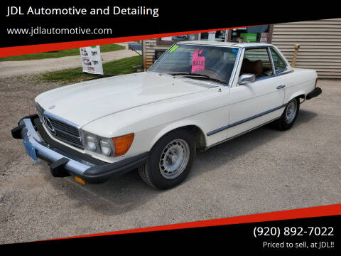 1974 Mercedes-Benz 450 SL for sale at JDL Automotive and Detailing in Plymouth WI
