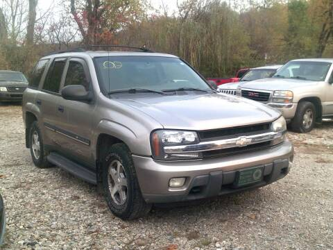 2002 Chevrolet TrailBlazer for sale at WEINLE MOTORSPORTS in Cleves OH