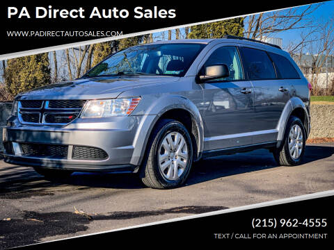2017 Dodge Journey for sale at PA Direct Auto Sales in Levittown PA