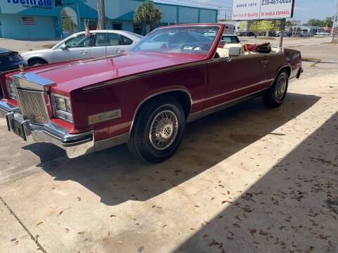 1984 Cadillac Eldorado for sale at Eastside Auto Brokers LLC in Fort Myers FL