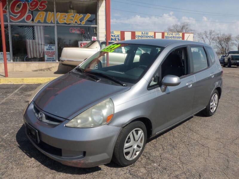 2008 Honda Fit for sale at FIRST CHOICE AUTO Inc in Middletown OH