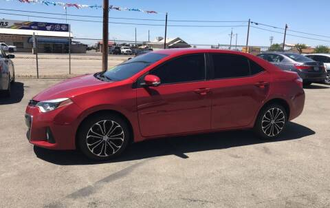 2015 Toyota Corolla for sale at First Choice Auto Sales in Bakersfield CA