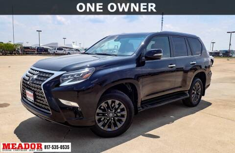 2020 Lexus GX 460 for sale at Meador Dodge Chrysler Jeep RAM in Fort Worth TX