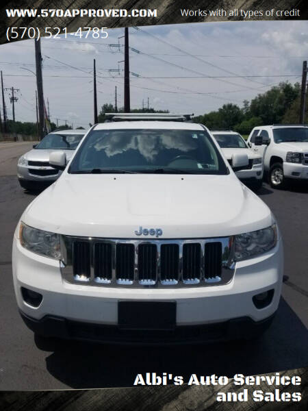 2013 Jeep Grand Cherokee for sale at Albi's Auto Service and Sales in Archbald PA