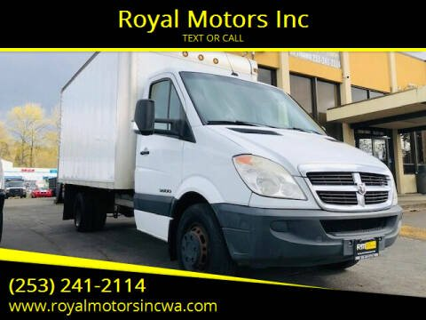 2007 Dodge Sprinter Cab Chassis for sale at Royal Motors Inc in Kent WA