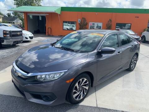 2016 Honda Civic for sale at Galaxy Auto Service, Inc. in Orlando FL