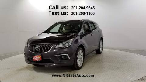 2018 Buick Envision for sale at NJ State Auto Used Cars in Jersey City NJ