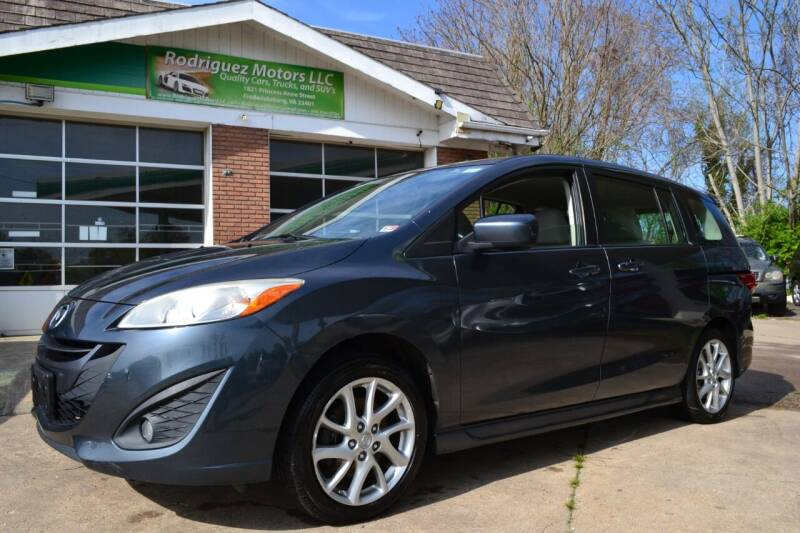 2012 Mazda MAZDA5 for sale at RODRIGUEZ MOTORS LLC in Fredericksburg VA