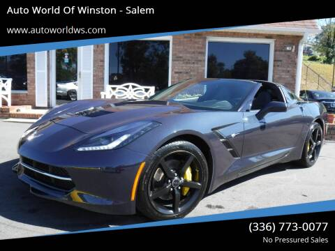 2014 Chevrolet Corvette for sale at Auto World Of Winston - Salem in Winston Salem NC