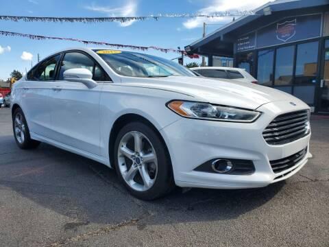 2015 Ford Fusion for sale at Michigan city Auto Inc in Michigan City IN
