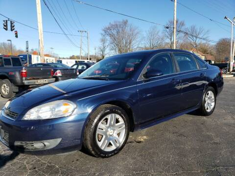 2011 Chevrolet Impala for sale at COLONIAL AUTO SALES in North Lima OH