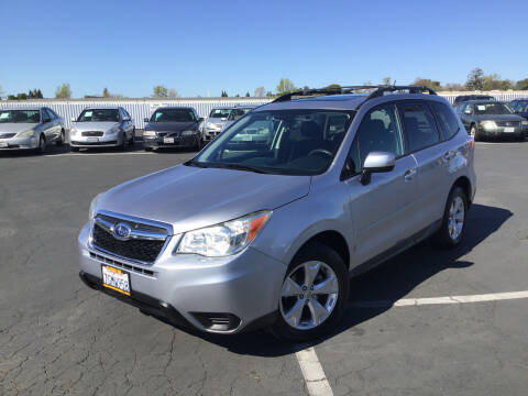 2015 Subaru Forester for sale at My Three Sons Auto Sales in Sacramento CA