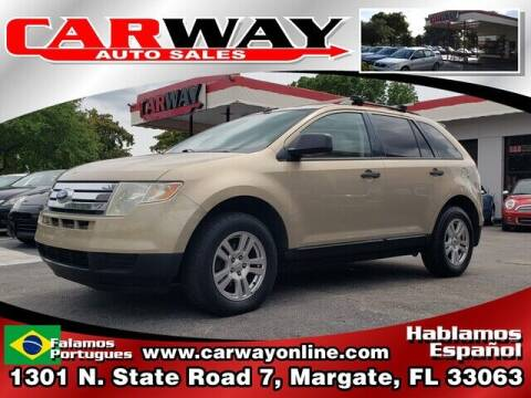 2007 Ford Edge for sale at CARWAY Auto Sales in Margate FL