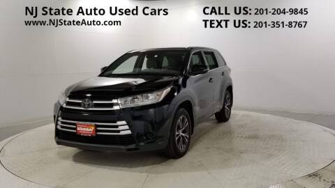 2017 Toyota Highlander for sale at NJ State Auto Auction in Jersey City NJ