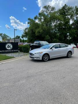 2017 Ford Fusion for sale at Station 45 Auto Sales Inc in Allendale MI