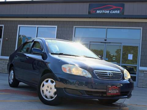 2005 Toyota Corolla for sale at CK MOTOR CARS in Elgin IL