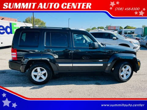 2012 Jeep Liberty for sale at SUMMIT AUTO CENTER in Summit IL