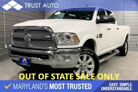 2015 RAM Ram Pickup 3500 for sale at TRUST AUTO in Sykesville MD