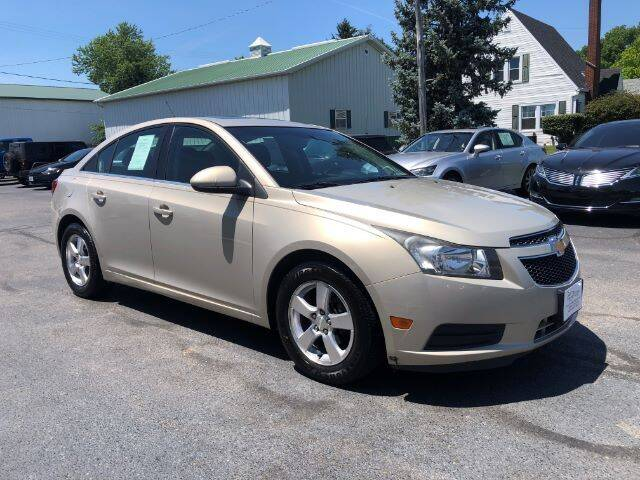 2012 Chevrolet Cruze for sale at Tip Top Auto North in Tipp City OH