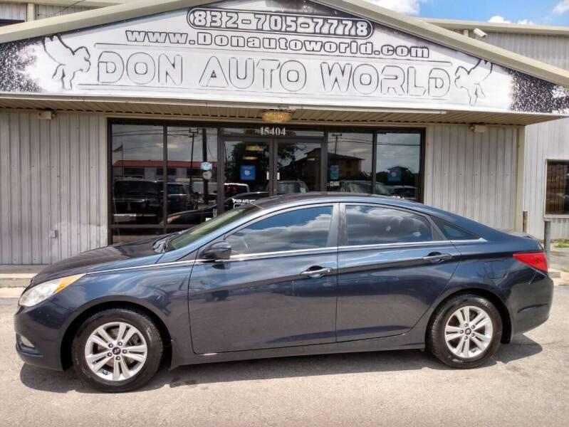 2013 Hyundai Sonata for sale at Don Auto World in Houston TX