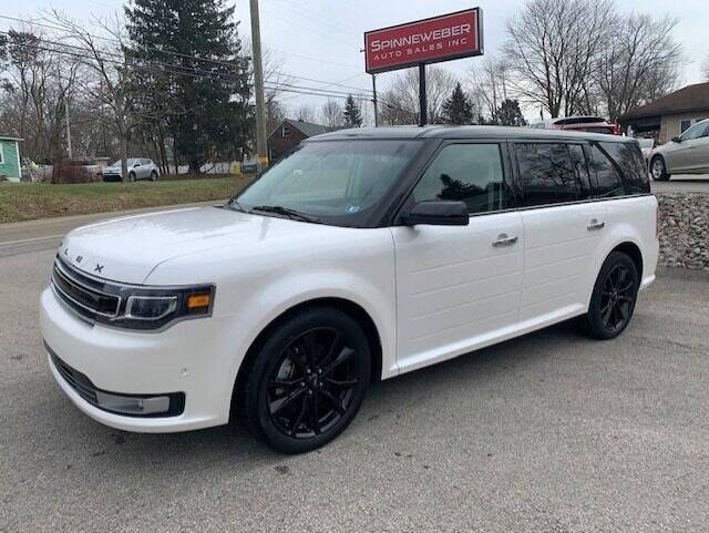 2019 Ford Flex for sale at SPINNEWEBER AUTO SALES INC in Butler PA