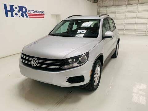 2017 Volkswagen Tiguan for sale at H&R Auto Motors in San Antonio TX