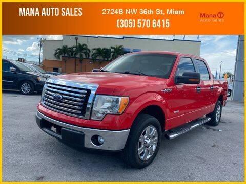 2012 Ford F-150 for sale at MANA AUTO SALES in Miami FL