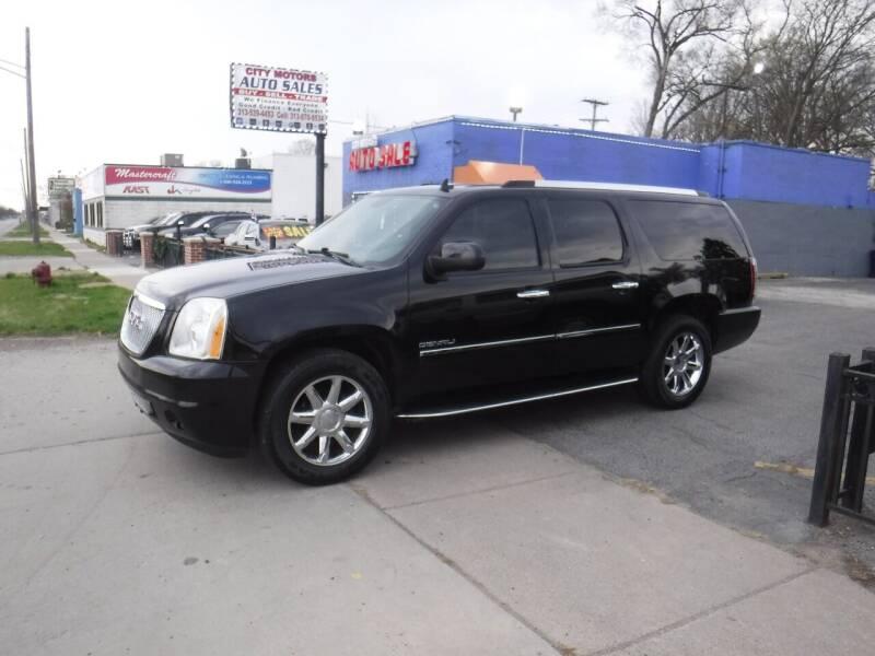 2010 GMC Yukon XL for sale at City Motors Auto Sale LLC in Redford MI