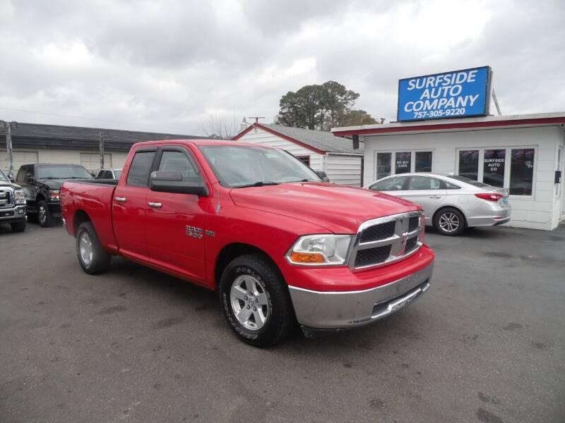 2010 Dodge Ram Pickup 1500 for sale at Surfside Auto Company in Norfolk VA
