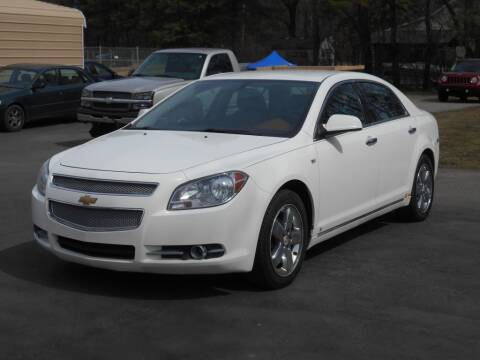 2008 Chevrolet Malibu for sale at MT MORRIS AUTO SALES INC in Mount Morris MI