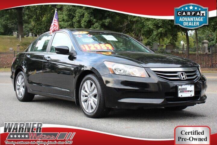 2012 Honda Accord for sale at Warner Motors in East Orange NJ