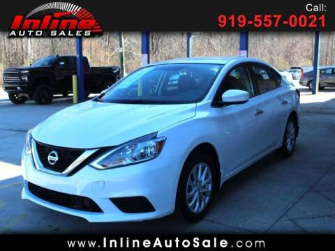 2018 Nissan Sentra for sale at Inline Auto Sales in Fuquay Varina NC