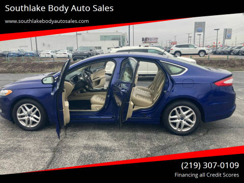 2016 Ford Fusion for sale at Southlake Body Auto Sales in Merrillville IN