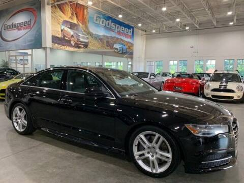2016 Audi A6 for sale at Godspeed Motors in Charlotte NC