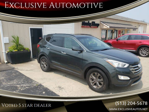 2013 Hyundai Santa Fe Sport for sale at Exclusive Automotive in West Chester OH