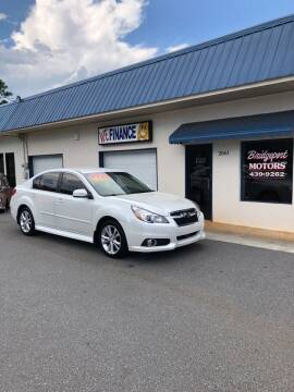 2013 Subaru Legacy for sale at BRIDGEPORT MOTORS in Morganton NC
