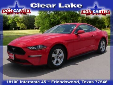 2019 Ford Mustang for sale at Ron Carter  Clear Lake Used Cars in Houston TX