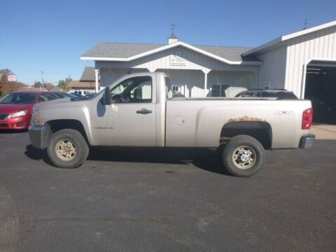 2007 Chevrolet Silverado 2500HD for sale at JIM WOESTE AUTO SALES & SVC in Long Prairie MN