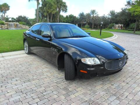 2008 Maserati Quattroporte for sale at AUTO HOUSE FLORIDA in Pompano Beach FL