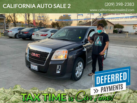 2014 GMC Terrain for sale at CALIFORNIA AUTO SALE 2 in Livingston CA