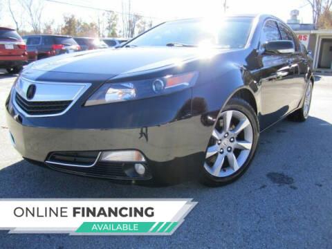 2012 Acura TL for sale at Atlanta Luxury Motors Inc. in Buford GA