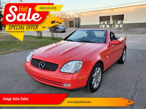 2000 Mercedes-Benz SLK for sale at Image Auto Sales in Dallas TX