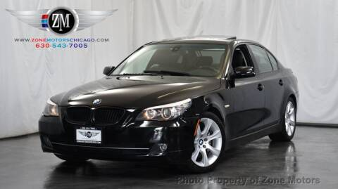 2008 BMW 5 Series for sale at ZONE MOTORS in Addison IL