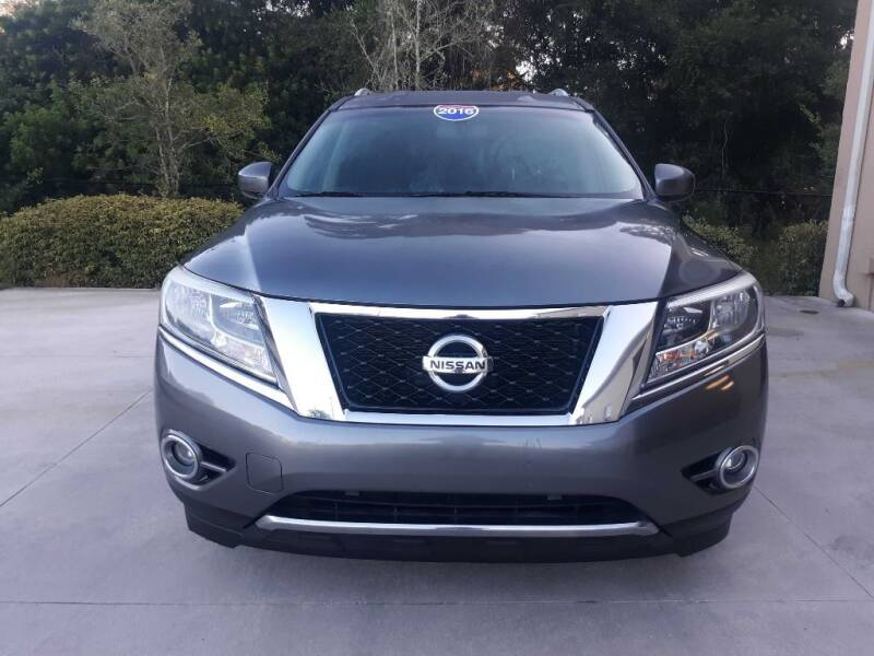2016 Nissan Pathfinder for sale at Jeff's Auto Sales & Service in Port Charlotte FL