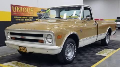 1968 Chevrolet C/K 10 Series for sale at UNIQUE SPECIALTY & CLASSICS in Mankato MN