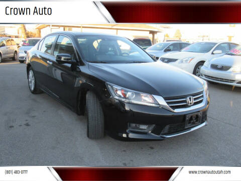 2014 Honda Accord for sale at Crown Auto in South Salt Lake City UT