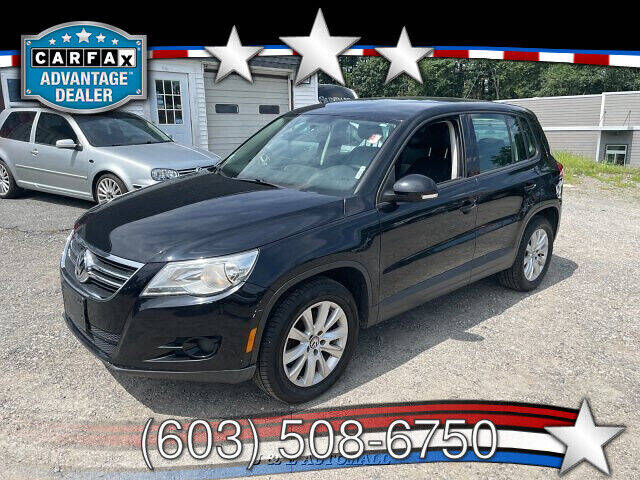 2010 Volkswagen Tiguan for sale at J & E AUTOMALL in Pelham NH