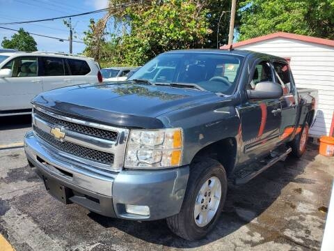 2010 Chevrolet Silverado 1500 for sale at America Auto Wholesale Inc in Miami FL